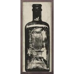 Copper River Bottles, No. 1, framed