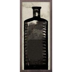 Copper River Bottles, No. 4, framed