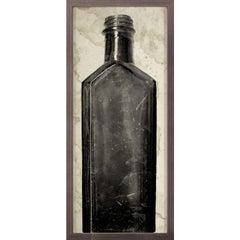 Copper River Bottles, No. 6, framed
