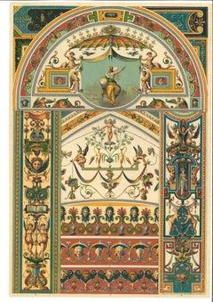 Decorative Motifs of the Italian Renaissance - Chromolithograph - 20th Century