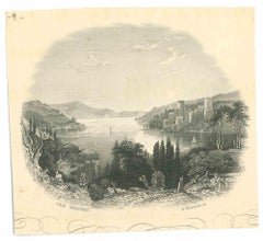 Der Bosporus - Original Lithograph - Mid 19th Century