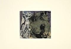Devils - Original Ink and Watercolor - Mid-20th Century