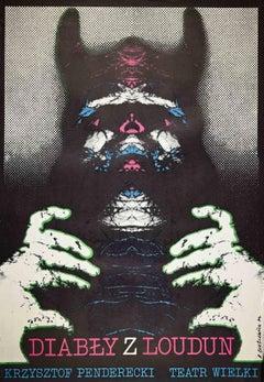 Diably Z Loudun - Vintage Offset Print - 1974