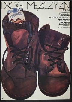 Drogi Mezczyzn - Vintage Offset Print - 1973
