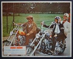"""Easy Rider"" Original American Lobby Card of the Movie, USA 1969."