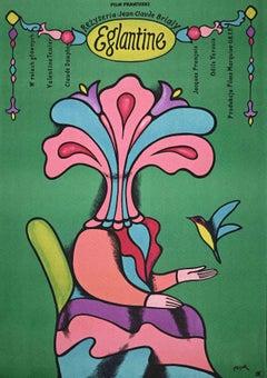 Eglantine - Vintage Offset Print - 1970s