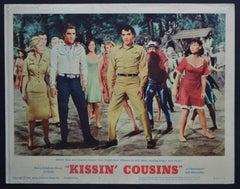 "Elvis Presley ""KISSIN' COUSINS"" Original American Lobby Card, USA 1964."