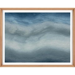 Ethereal Landscapes No. 1, Small Blue Series, unframed