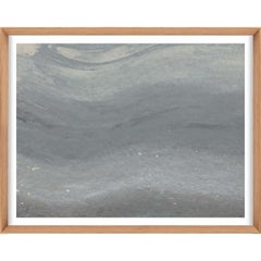 Ethereal Landscapes No. 2, Small Grey Series, framed