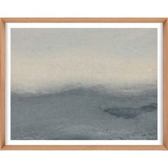 Ethereal Landscapes No. 5, Small Grey Series, unframed