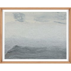 Ethereal Landscapes No. 6, Small Grey Series, unframed