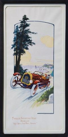 Fabrique Automobile Belge. Racing Car.