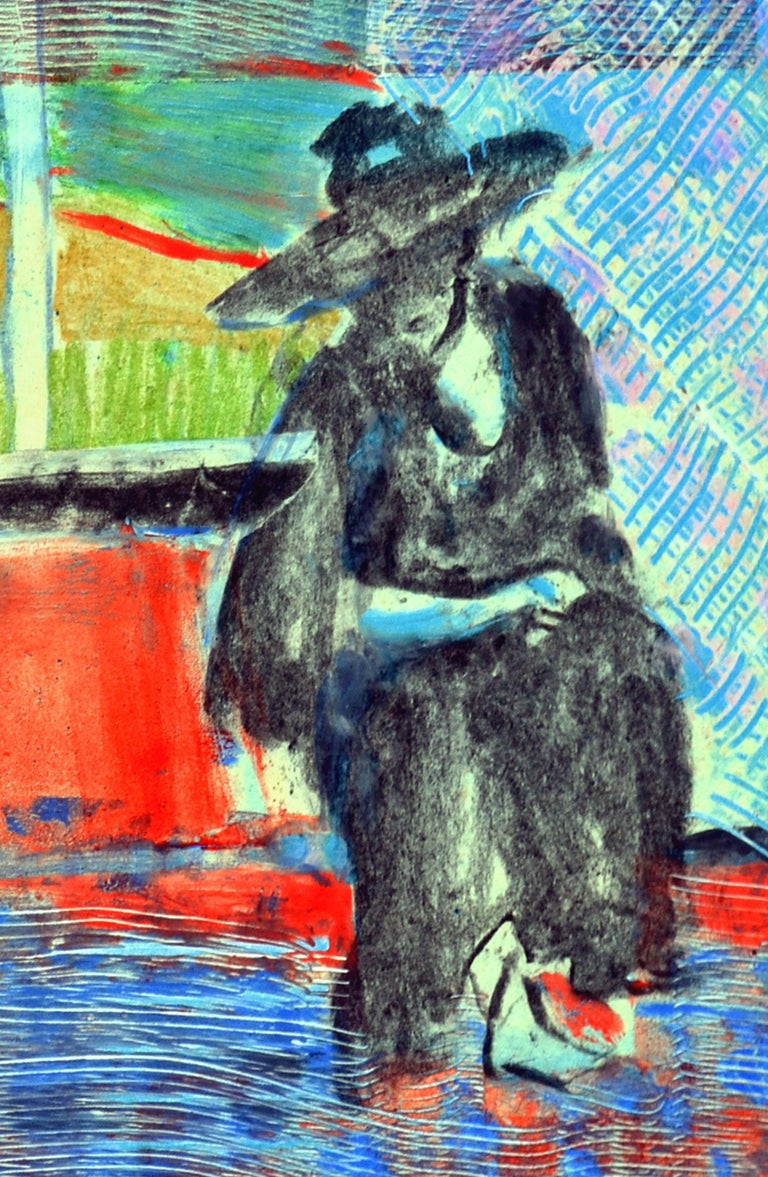 Figurative Abstract  - Gray Figurative Print by Unknown