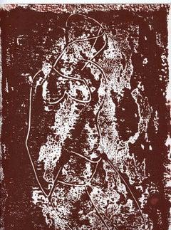 Figure - Original Lithograph - Mid-19th Century