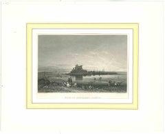 Fouldrey Castle - Original Lithograph - Mid 19th Century