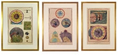 French Clock Engravings S/3