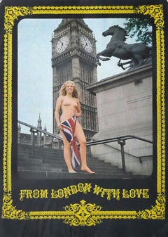 From London With Love - Original Offset Poster - 1980