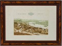 Gaal Domokos (1940-2009) - Mid 20th Century Etching, Views From Budapest