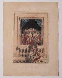 Gare Dessous - Original Lithograph  - 19th century