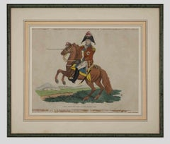 General Sir Eire Coote - Original Water-colored Lithograph - 1816