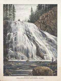 Gibbon Falls, Yellow-Stone National Park