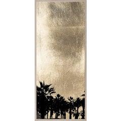 Golden Sunset, series 1, no. 1, gold leaf, giclee print, unframed
