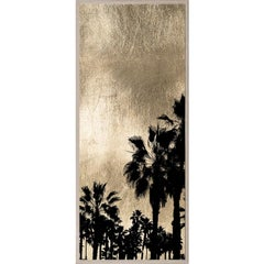 Golden Sunset, series 1, no. 2, gold leaf, giclee print, unframed