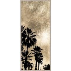 Golden Sunset, series 1, no. 3, gold leaf, giclee print, unframed