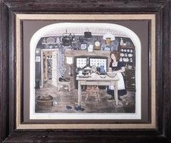 Graham Clarke (b.1941) - 1984 Etching, Excelsior