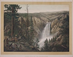 Great Falls of the Yellow-Stone, Yellowstone National Park 1880