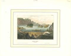 Gullo Fall - Original Lithograph - Mid-19th Century