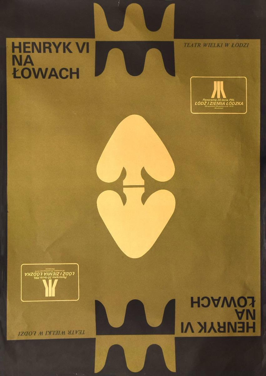 Henryk VI na Lowach Vintage Poster - 1974