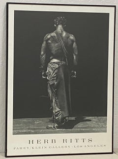 """Herb Ritts """"Fahey / Klein Gallery"""" Exhibition Poster"""