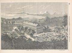 Hong Kong 19th Century Wood Engraving