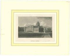 Howard Castle - Original Lithograph - Mid-19th Century