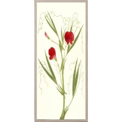 Hubbard Flowers No. 1208, giclee print, framed