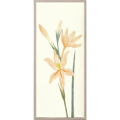 Hubbard Flowers No. 4009, giclee print, framed
