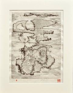 Islands Woodblock