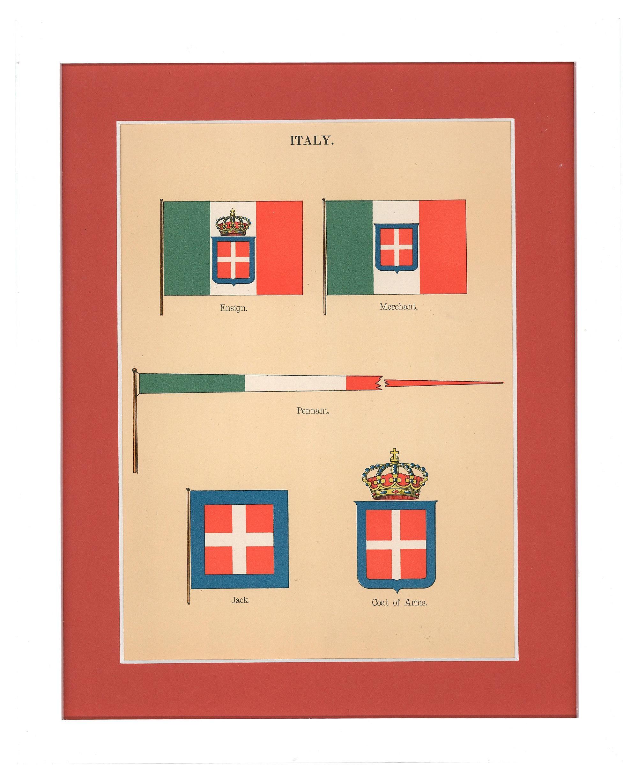 Italy Pennants