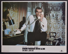 """""""James Bond 007 - From Russia with love"""" Original Lobby Card, UK 1963"""