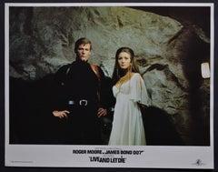 """James Bond 007 - Live and let die"" Original Lobby Card, UK 1973"