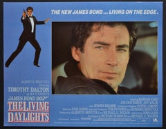 """James Bond 007 - The living daylights"" Original Lobby Card, UK 1987"