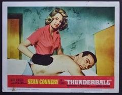 """James Bond 007 - Thunderball"" Original UK Lobby Card, UK 1965"