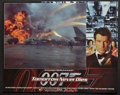 """James Bond 007 - Tomorrow never dies"" Original Lobby Card, UK 1997"