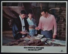 """James Bond 007 - You only life twice"" Original Lobby Card, UK 1967"