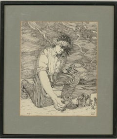 Jennifer Maskell Packer (1944-2016) - Signed Contemporary Etching, Giant