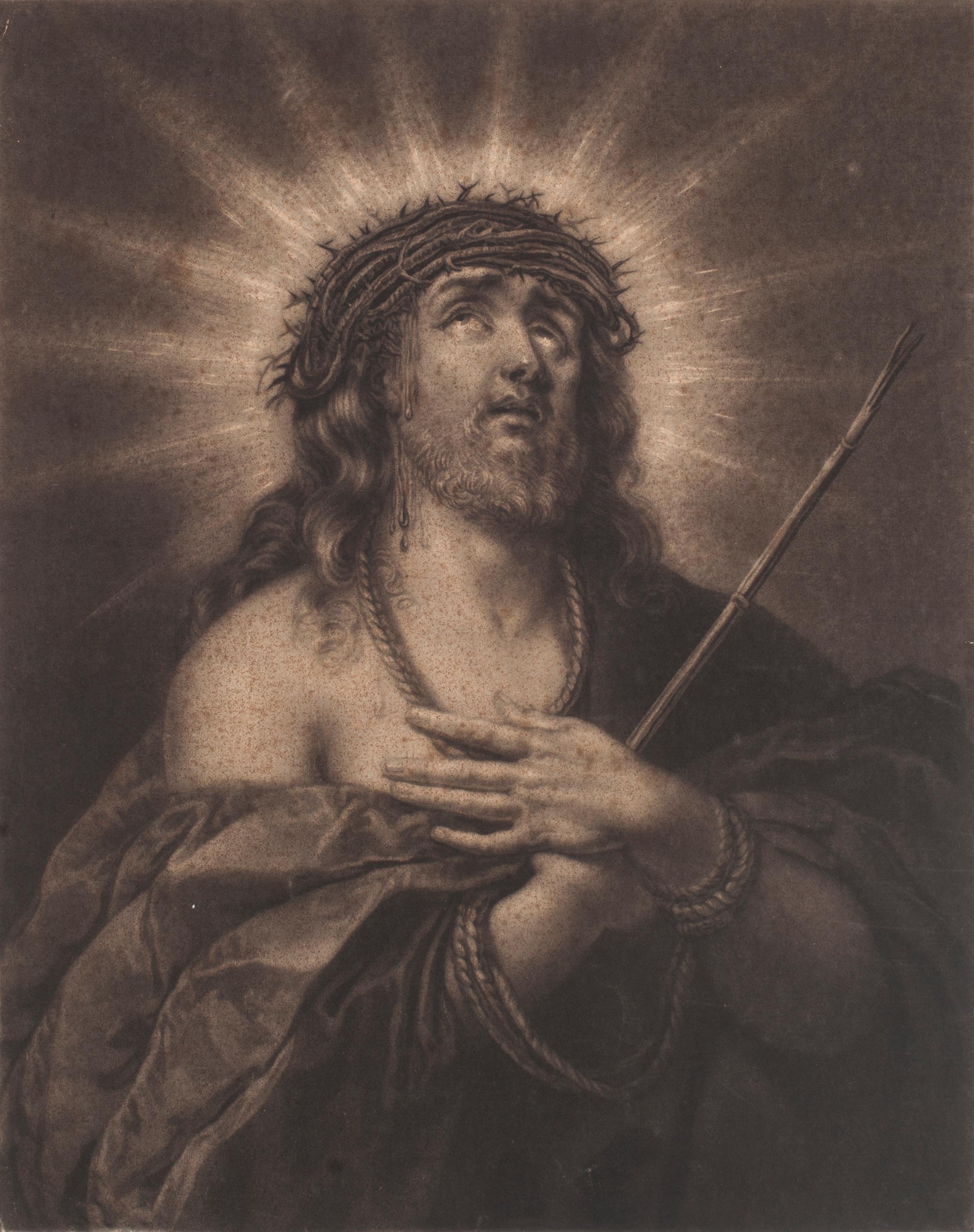 Jesus Christ - Original Etching - 17th Century