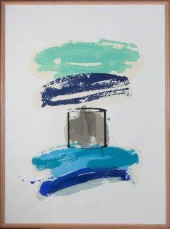 Jim Russ - 1989 Silkscreen, Processed Still Life