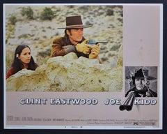 """JOE KIDD"" Original American Lobby Card of the Movie, USA 1972."