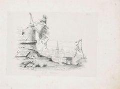 La Manna - Original Lithograph - Late 19th Century